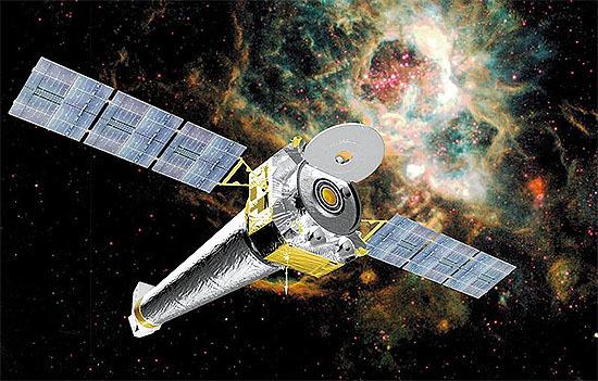 NASAのX線観測衛星チャンドラ