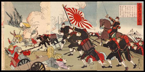 日清戦争錦絵1
