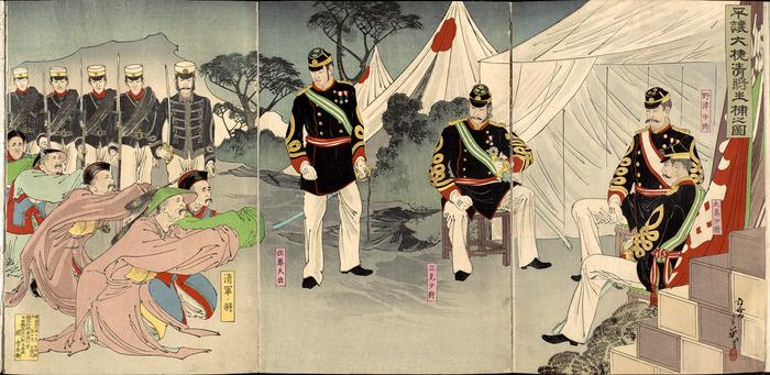 日清戦争錦絵2