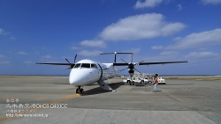 久米島空港,DHC8-Q400,飛行機,ボンバルディア,壁紙,沖縄