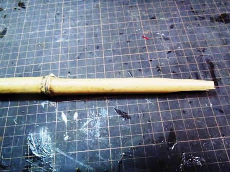 ピンセット用の竹ブログ用