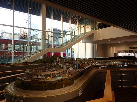 1階の大ジオラマです。