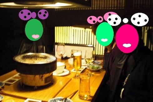盆梅展 焼肉3