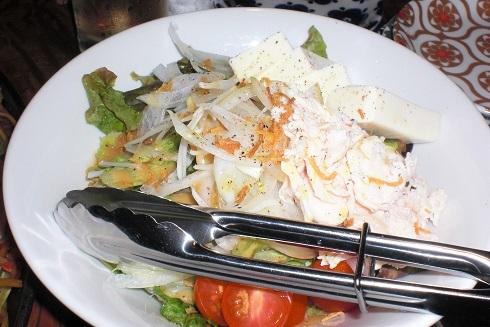 ホタルカゴ サラダ2