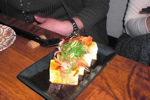 ホタルカゴ 豆腐