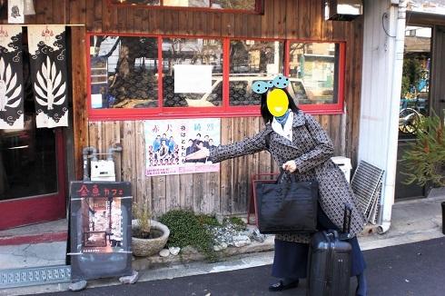 最終日金魚カフェ