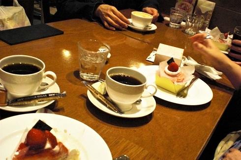 最終日新大阪カフェ
