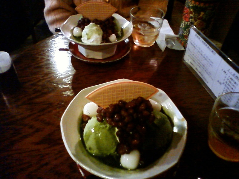 緑茶パフェ