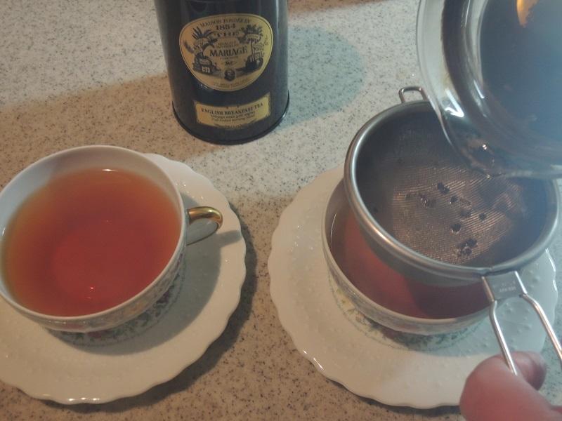 今日は、紅茶です