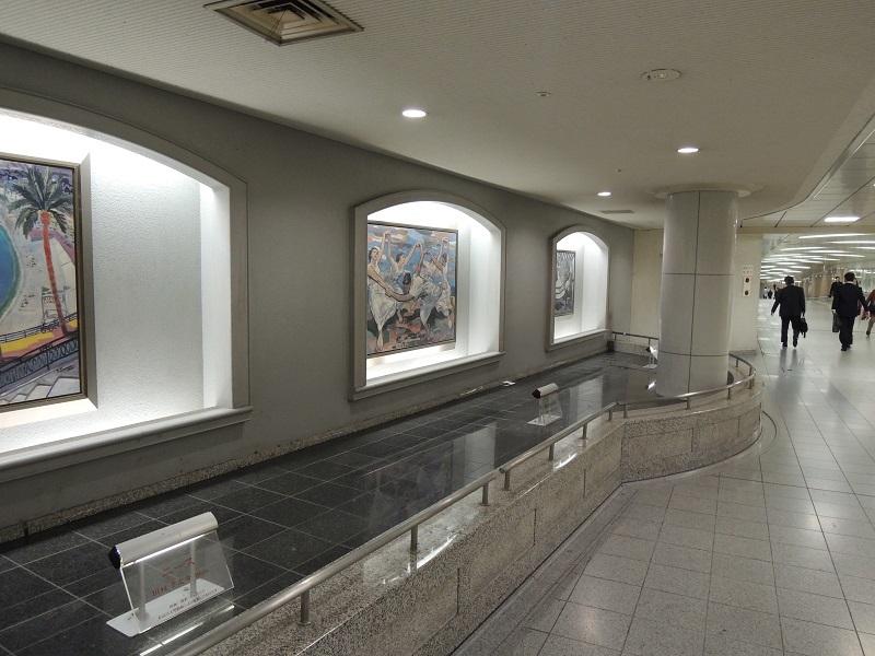 神戸の地下道