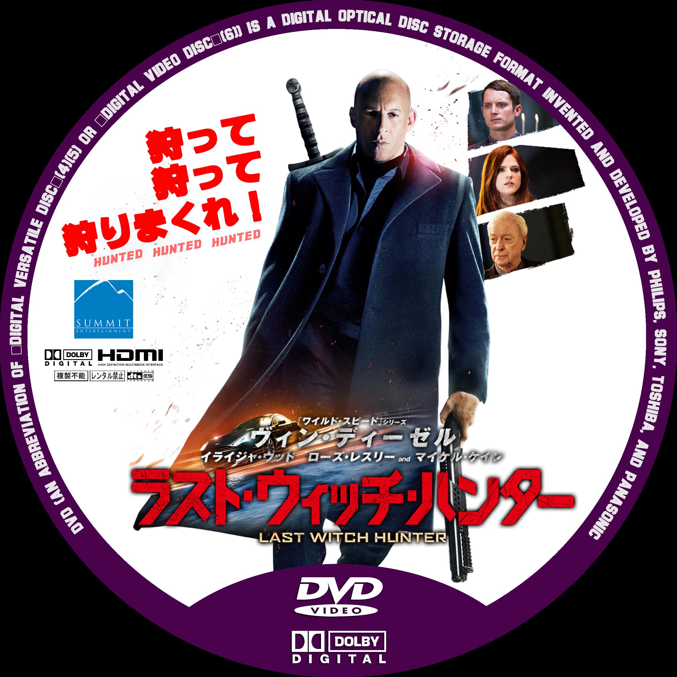DVDラベル 雛形2