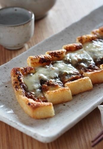 油揚げのふき味噌チーズ2