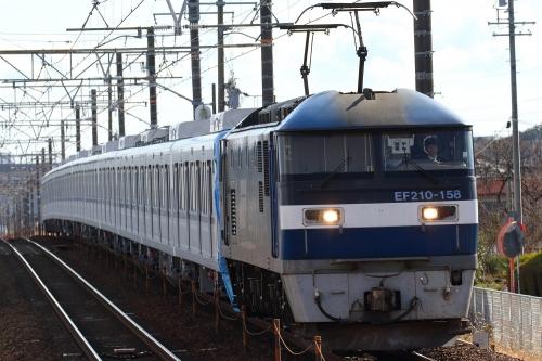 メトロ15000系甲種回送・8862レ 安倍川駅