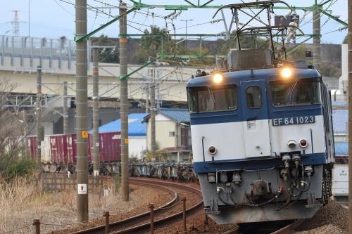 3075レ 用宗駅