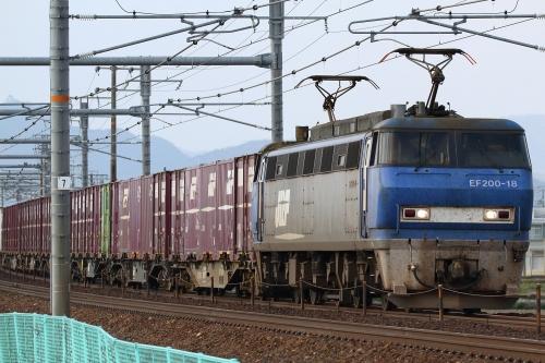 EF200-18代走・5070レ 木曽川-岐阜