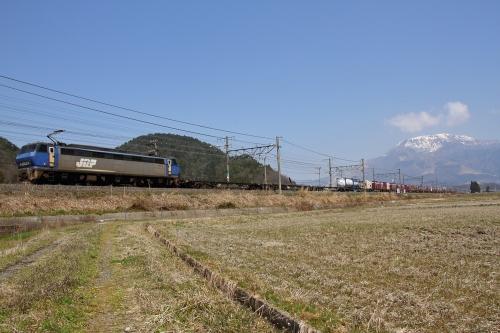EF200-18代走・5085レ 近江長岡駅