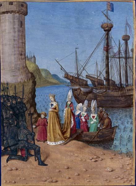 夫エドワード2世を逮捕させ、息子の皇太子エドワードとともにイングランドへ戻ったイザベラ王妃