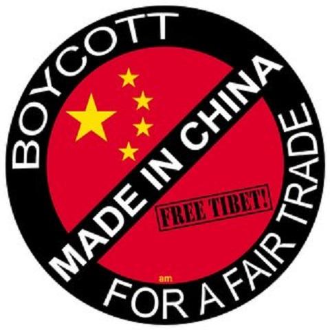 中国製品ボイコット