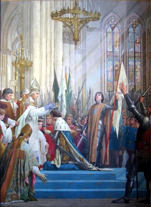 シャルル7世の戴冠とジャンヌ・ダルク
