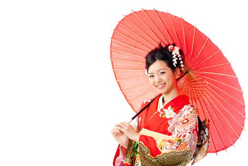 女性 日本人 着物 2