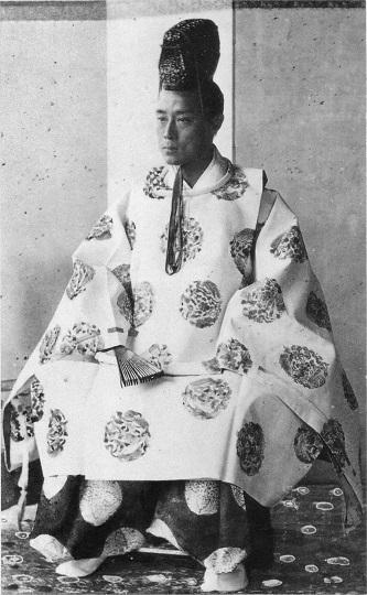 慶応3年(1867年)大阪での慶喜