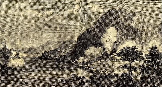 フランス艦隊による報復攻撃