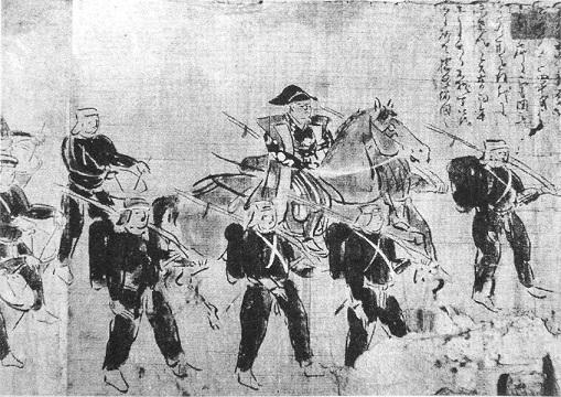 西洋式軍装に身を包んだ幕府軍(1865年)