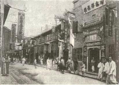 19世紀の上海