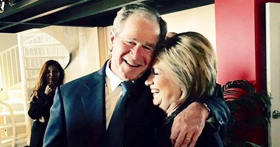 ブッシュとクリントン 1