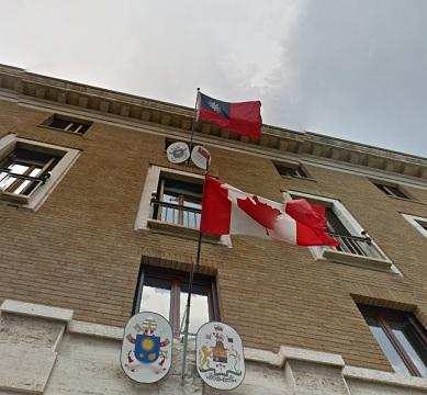 バチカン 台湾大使館 2