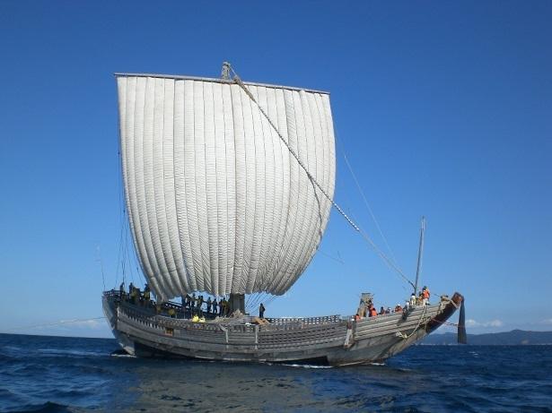 復元北前型弁才船「みちのく丸」
