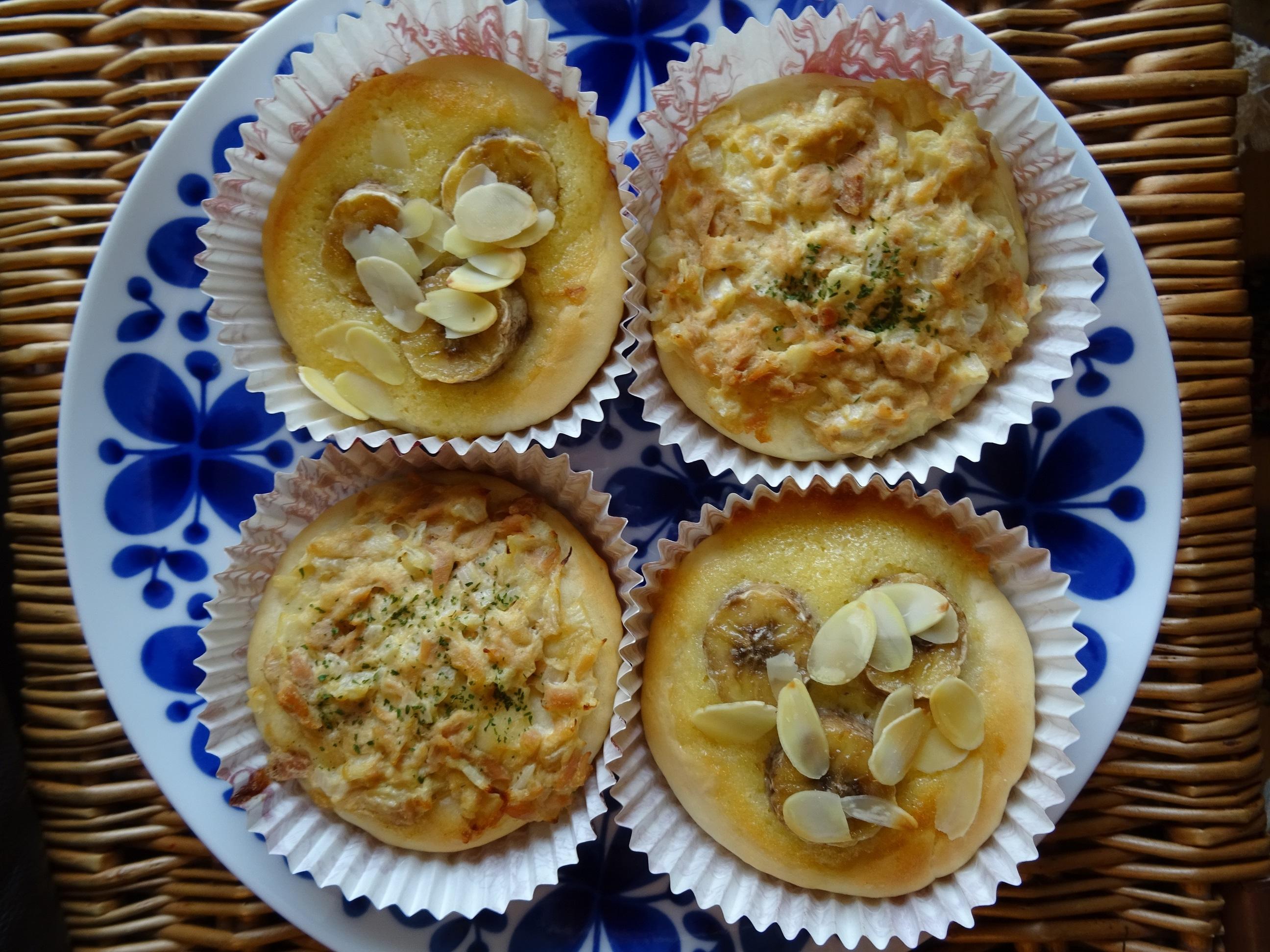 カップパン(ツナマヨ&バナナクリーム)3