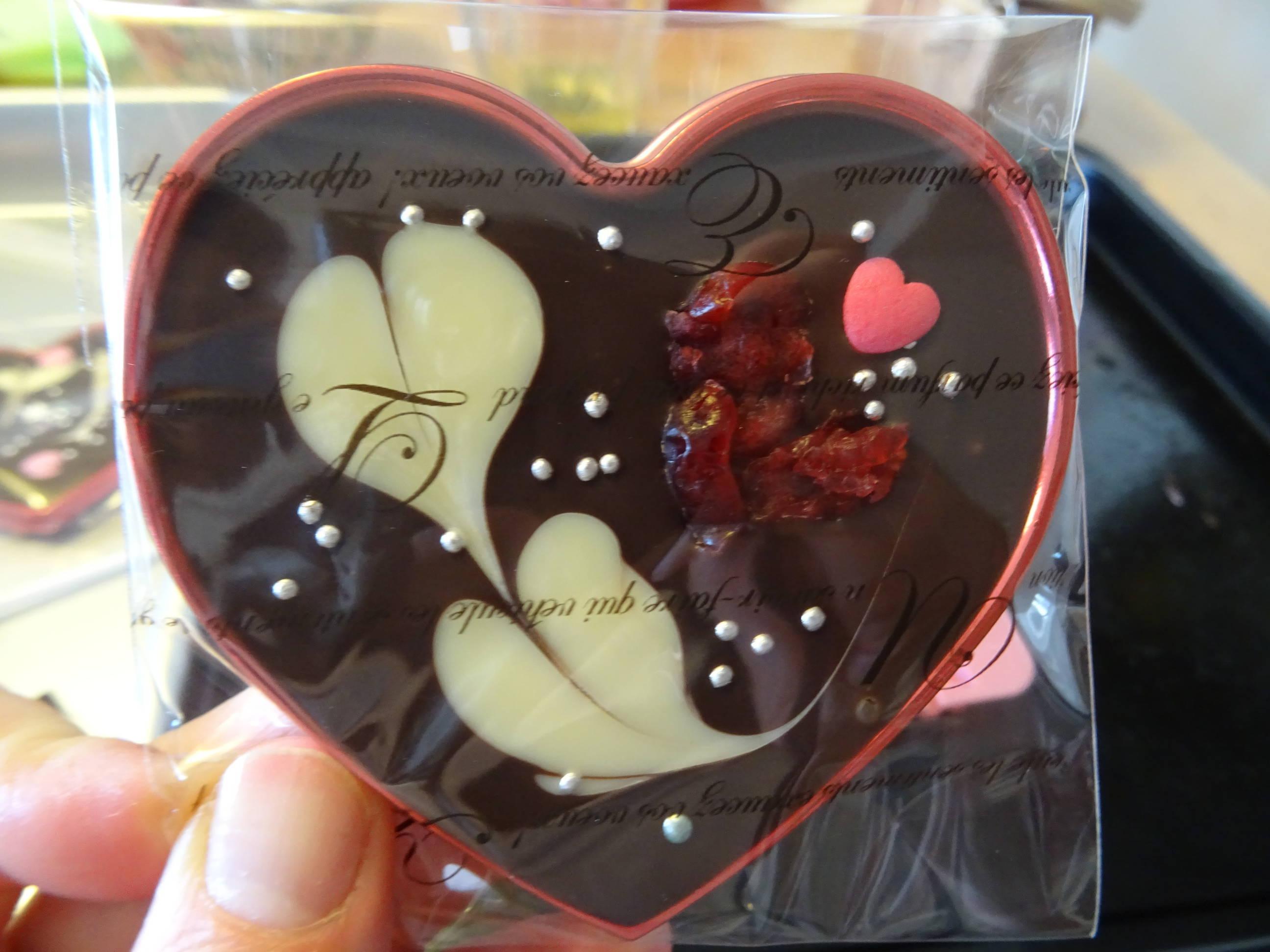 バレンタインデーのチョコレート3