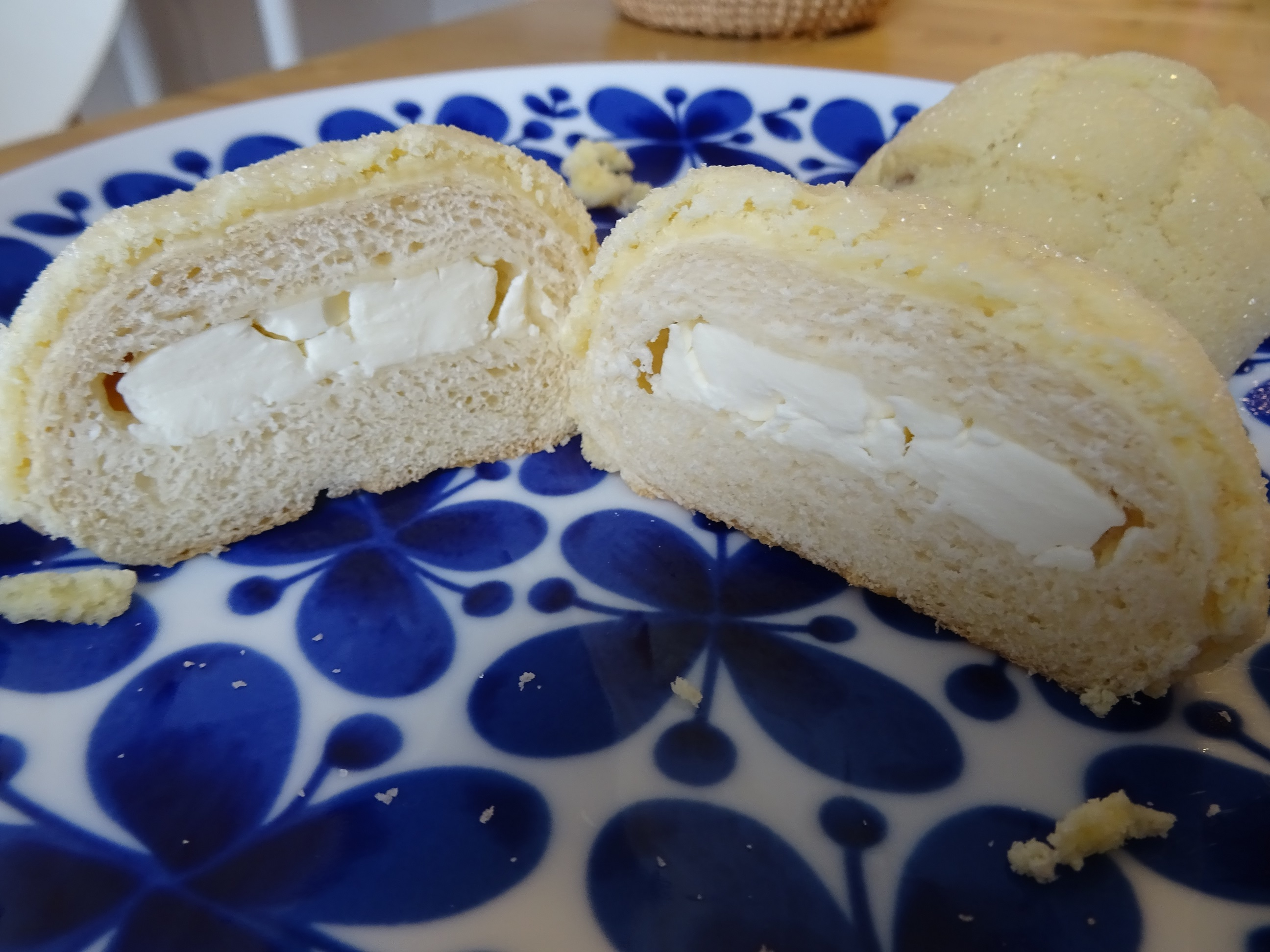 クリームチーズとメープルジャムのメロンパン3