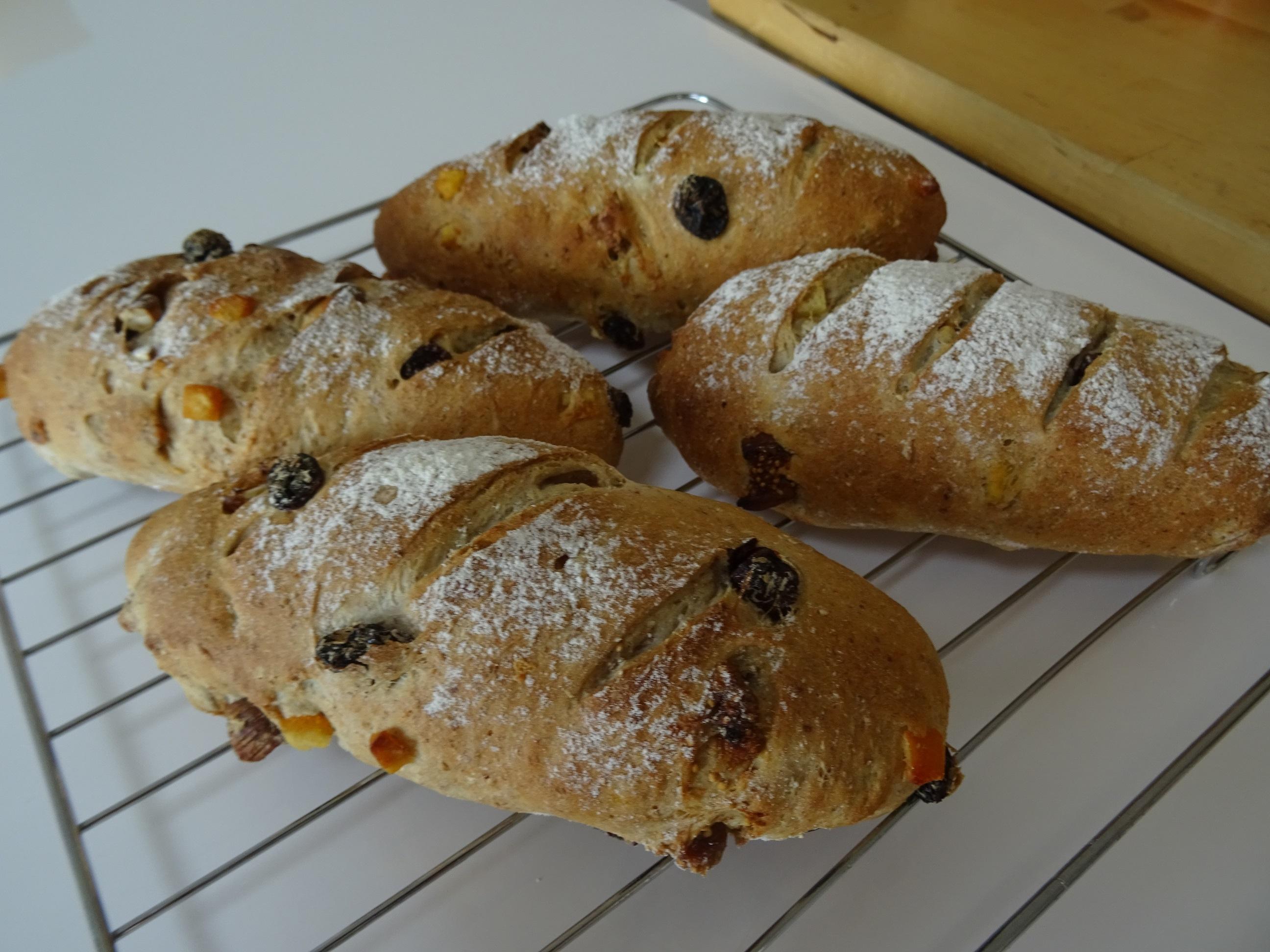 フィグオランジェ&トマトバジル&クリームパン レッスンレポート1