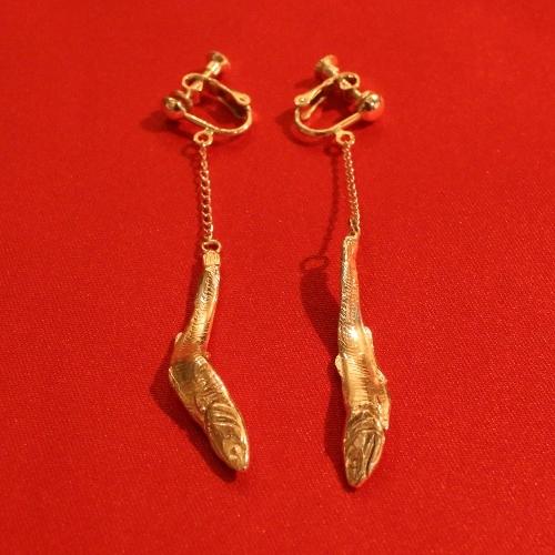大田区 池上 パンタレイ panta rhei 煮干し シルバー 銅合金 アクセサリー ギャラリー
