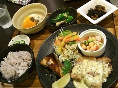 茶和さんの定食