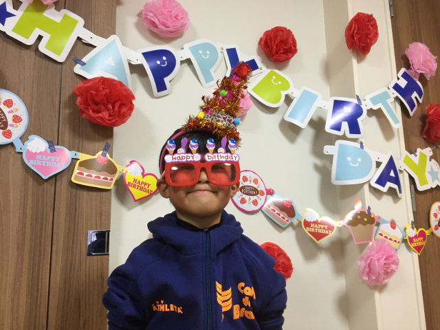陸ちゃん7歳の誕生日