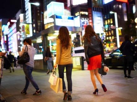 渋谷の女の子