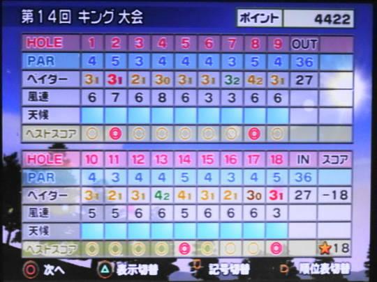 みんゴル4をプレー 第23回 (4)