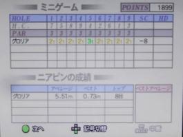 みんゴル3をプレー 第11回 (1)