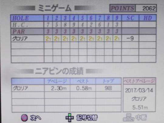 みんゴル3をプレー 第11回 (3)