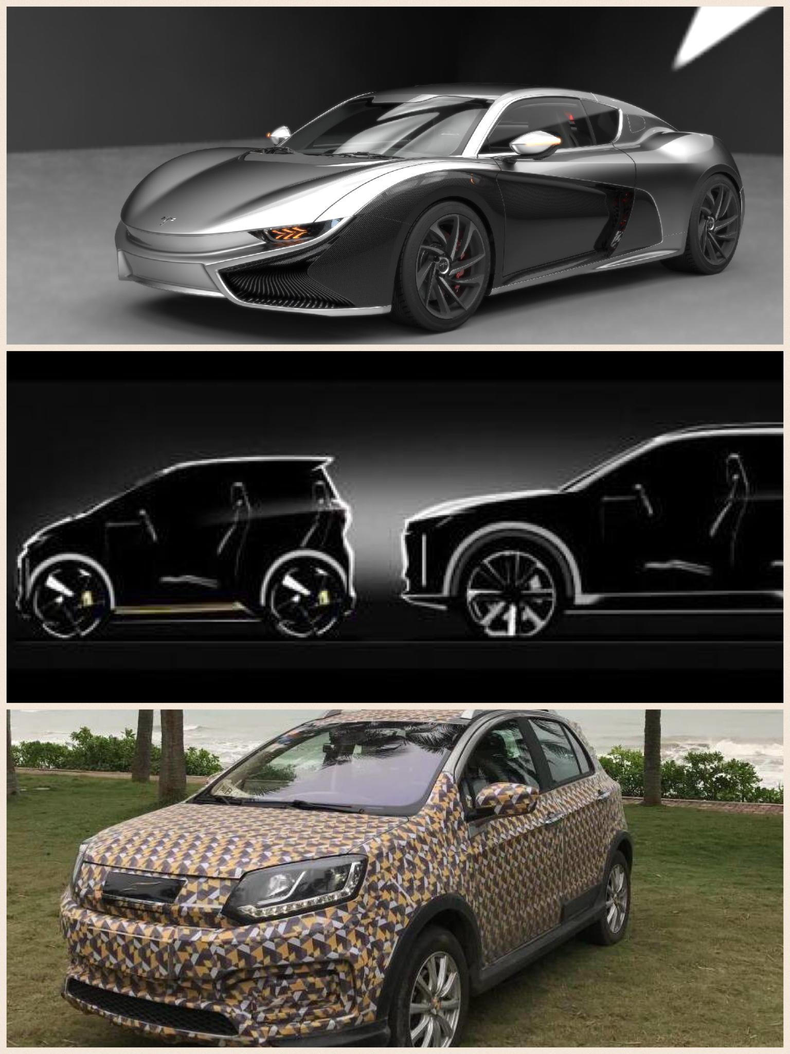 中国新興EVメーカー 前途の「K50」車和家のSEV 雲度の「A101」
