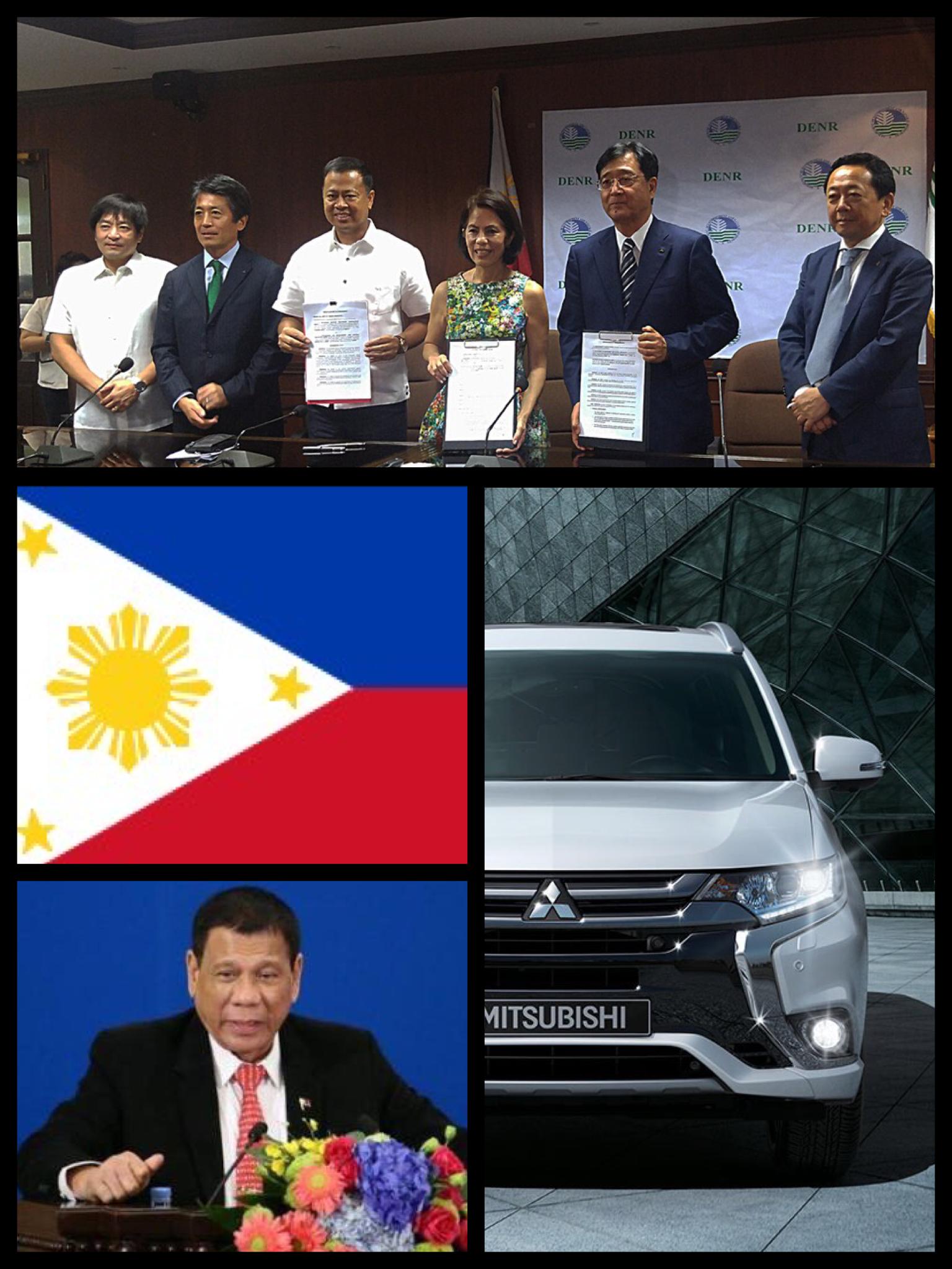 三菱自動車 フィリピン アウトランダーPHEV