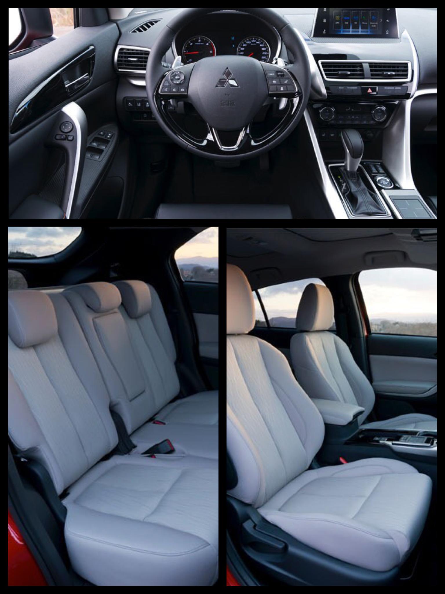 三菱の新型SUVエクリプスクロス インテリア