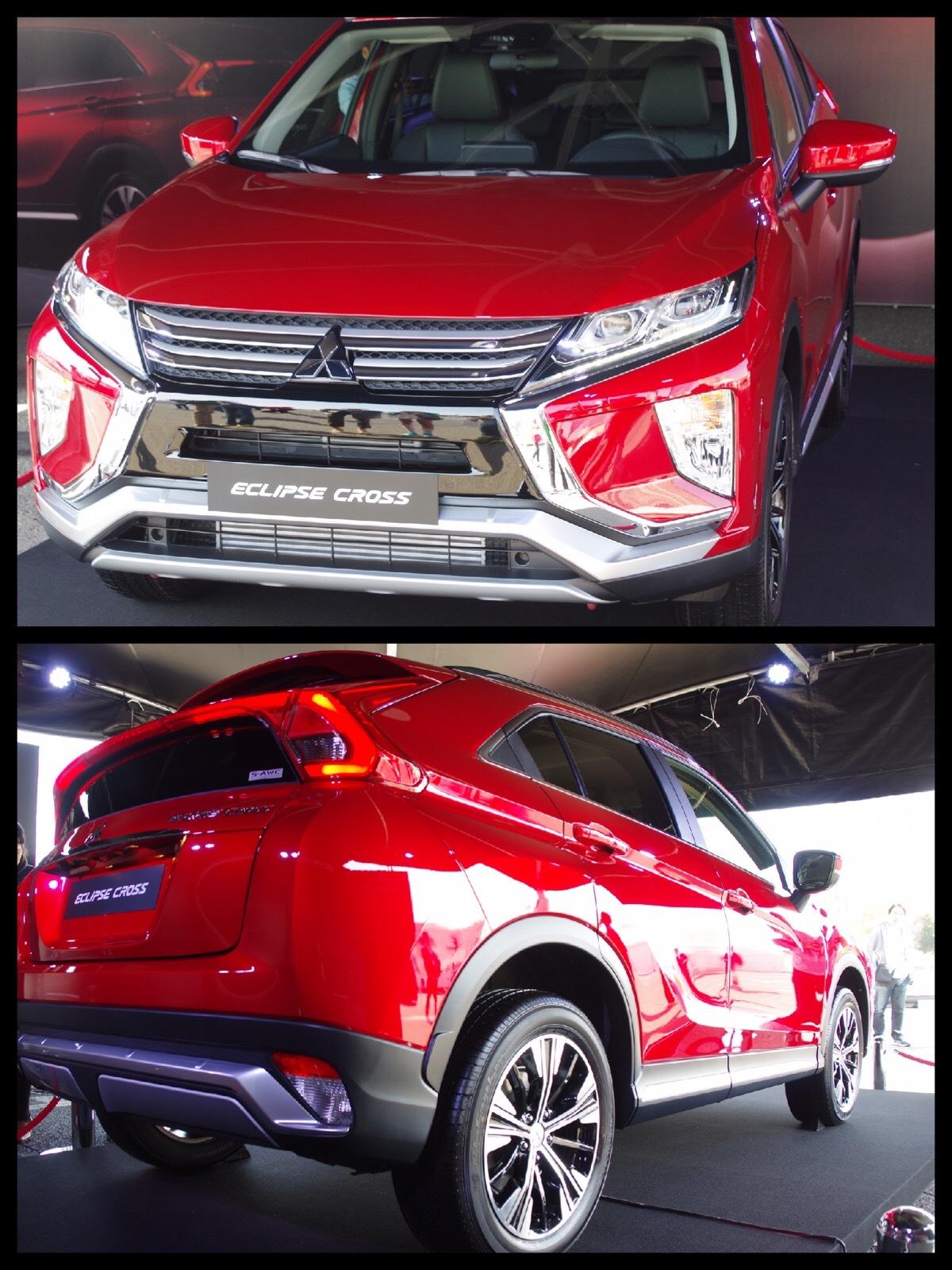 三菱 新SUV エクリプスクロス 実車 お台場 Mitsubishi Eclipse cross