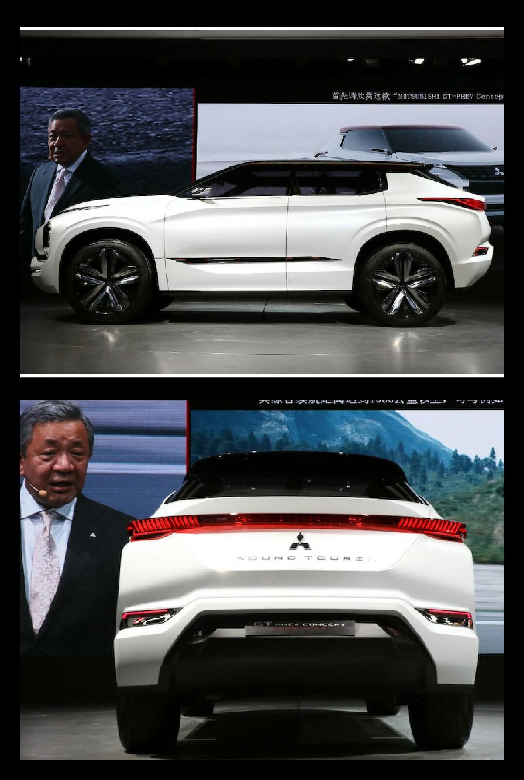 三菱 GT-PHEV consept 上海