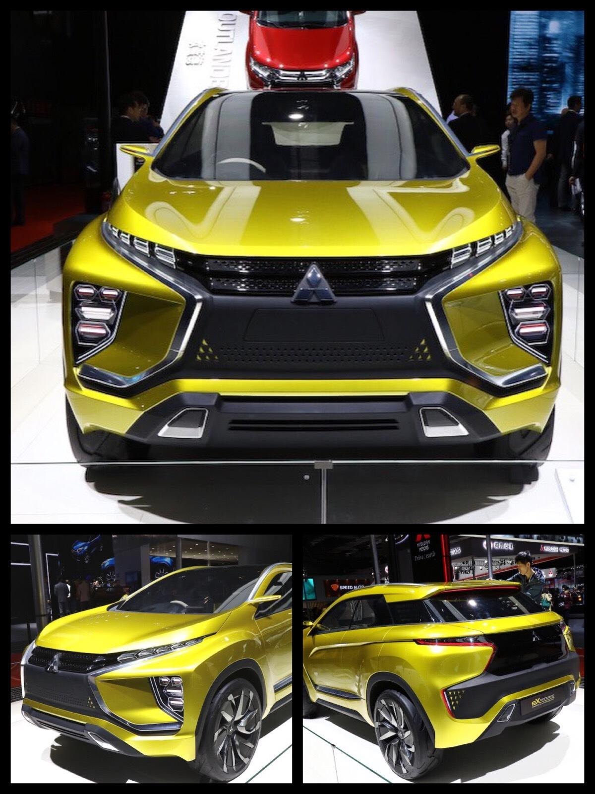 三菱 eX concept 上海
