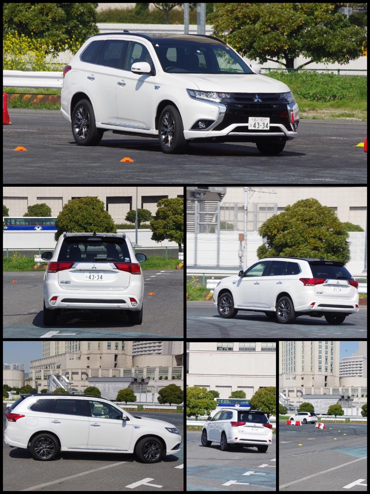 三菱 アウトランダーPHEV S-エディション モータースポーツジャパン2017