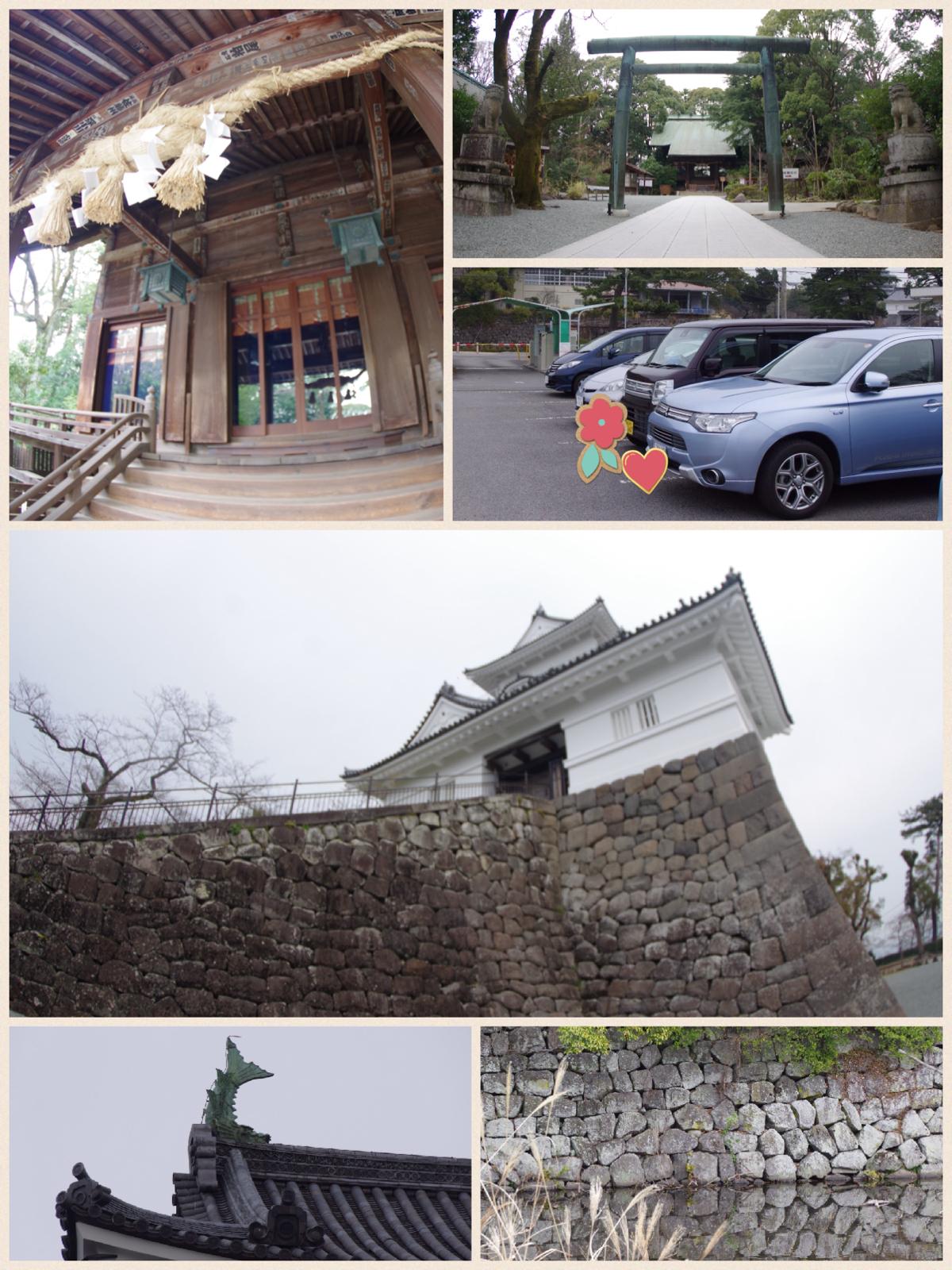 小田原城 桜